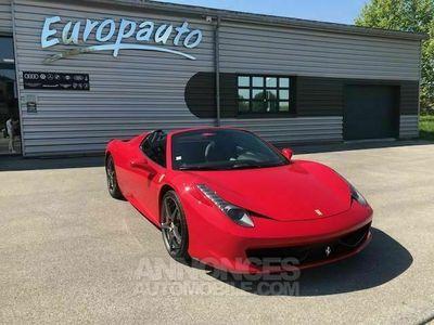 occasion Ferrari 458 Italia Spider 570CH DCT