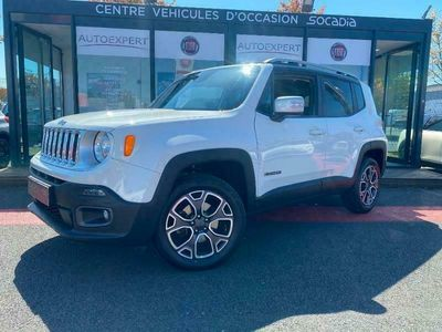 occasion Jeep Renegade 2.0 MultiJet S&S 140ch Limited 4x4 - VIVA2711742