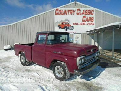occasion Ford F100 F100Y block v8 3 speed 1960 prix tout compris