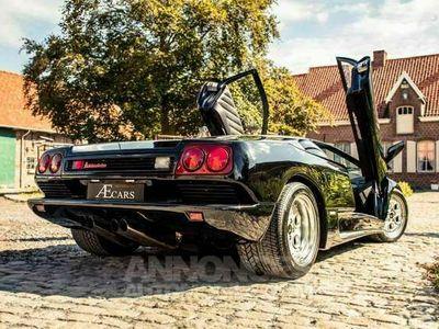 occasion Lamborghini Diablo 5.7 - V12 - FULL HISTORY - MANUAL - RADIO