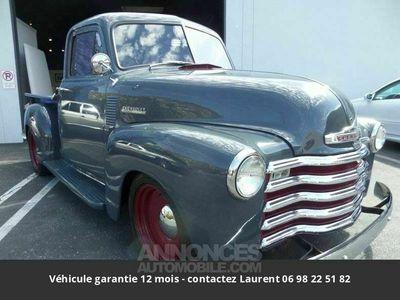 occasion Chevrolet Pick-Up 310012v 1952 prix tout compris