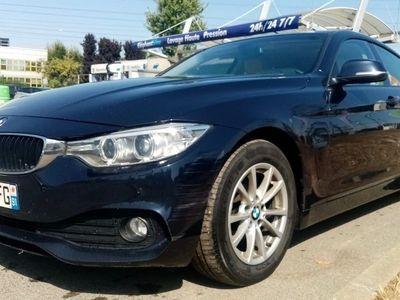 occasion BMW 418 Gran Coupé Serie 4 2016 - Bleu foncé - d F36 confort DAKOTA