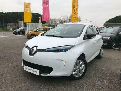 occasion Renault Zoe Life Gamme 2017 5 portes \u00c9lectrique Automatique Blanc