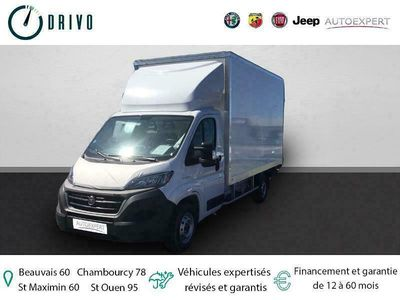 occasion Fiat Ducato CCb 3.5 Maxi L 2.3 Multijet 160ch Pack Pro Lounge Caisse 20m3 Hayon