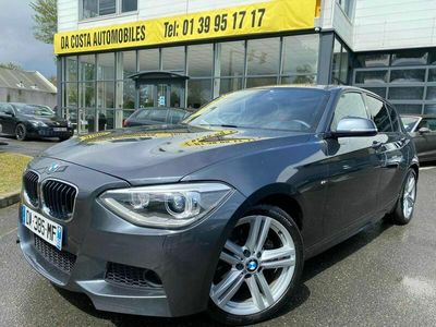 occasion BMW 118 SERIE 1 F20 - D XDRIVE 2.0 143 CV - PACK M SPORT / GRAND GPS / CUIR - GARANTIE 1 AN