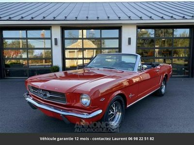 occasion Ford Mustang V8 289 1965 prix tout compris