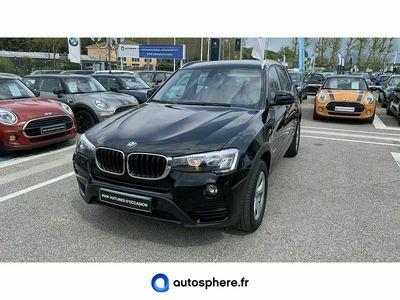 occasion BMW X3 sDrive18dA 150ch Lounge Plus