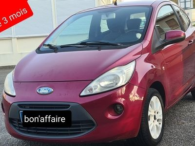 occasion Ford Ka 2009 - Rouge - 1.2i - 70ch clim 77000km