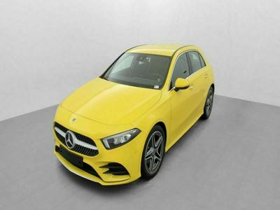 occasion Mercedes A180 ClasseD 7G-DCT AMG LINE Jaune Soleil