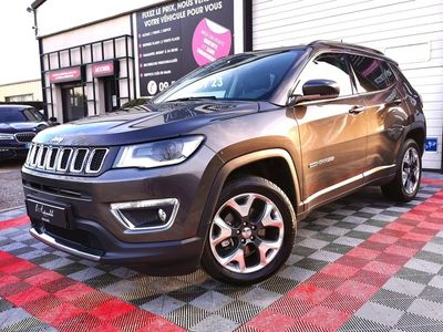 occasion Jeep Compass 2017 - Gris anthracite Métallisé - 2.0 CRD 140 OPENING EDITION LIMITED
