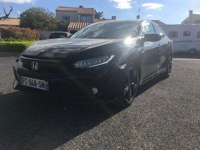 occasion Honda Civic 2018 - Noir - 1.0 i-vtec - bv cvt 2018