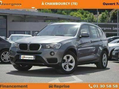 occasion BMW X3 (F25) (2) SDRIVE18DA 150 LOUNGE PLUS
