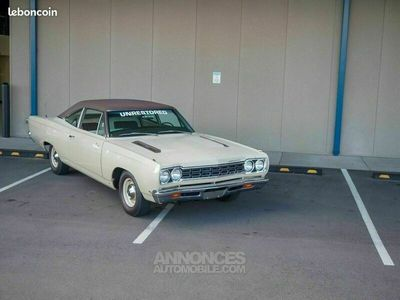 occasion Plymouth Road Runner 1968 - V8 383Ci - Boite Manuelle