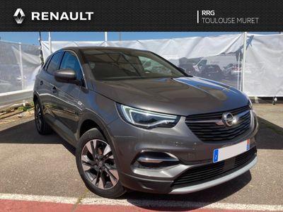 occasion Opel Grandland X 1.5 Diesel 130 ch BVA8 Elite 5 portes Diesel Automatique Gris
