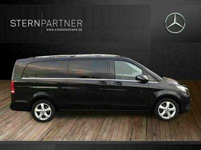 occasion Mercedes V220 d Avantgarde LED de navigation extra-longue en cuir