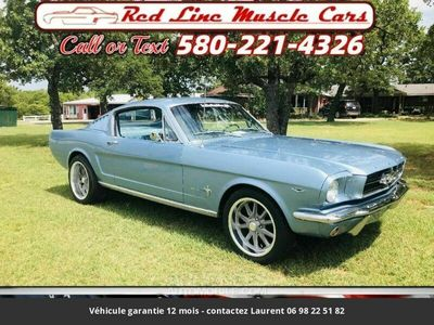 occasion Ford Mustang Fastback v8 289 1965 prix tout compris