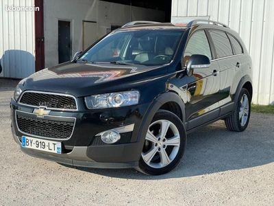 occasion Chevrolet Captiva 2011 - Noir Métallisé - 2.2 VCDI 184 CV GPS (7 places )