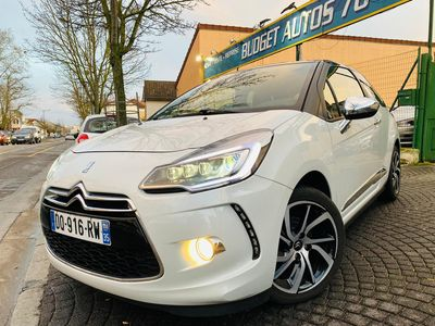 occasion Citroën DS3 2015 - Blanc - 1.2 THP SO IRRESISTIBLE GPS 4XCB