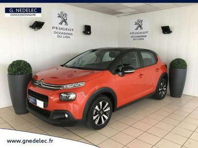 occasion Citroën C3 PureTech 82ch Feel Toit Noir + GPS + Options