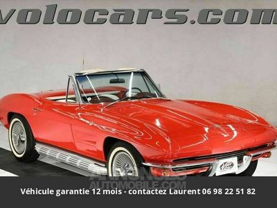 occasion Chevrolet Corvette C2 327 v8 1964 prix tout compris