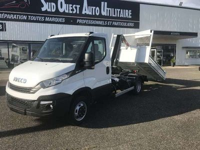 occasion Iveco Daily 35C15 QUAD TOR EURO6 POLYBENNE AMPLIROLL PRIX TTC