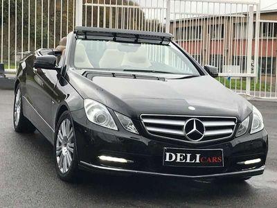 occasion Mercedes E220 CDI Cabriolet Boite Automat Led Xenon Cuir Navi
