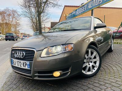 occasion Audi A4 Cabriolet 2007 - Beige - 2.0 TDI 140 LUXE GPS EN 4XCB