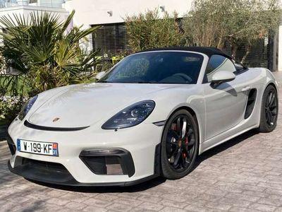occasion Porsche 718 Spyder 4.0i 420 ch