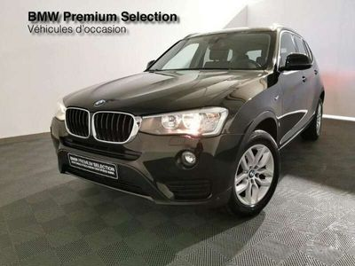 occasion BMW X3 sDrive18dA 150ch Lounge Plus Start Edition