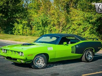 """occasion Plymouth Barracuda 1971 440Ci Six Pack """"Tribute""""- Boite Manuelle"""