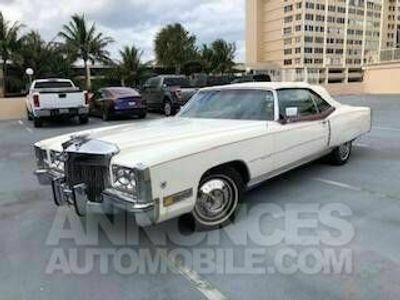 occasion Cadillac Eldorado 1972 prix tout compris