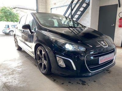 occasion Peugeot 308 2011 - Noir Métallisé - GTI 16V 1.6 200 CV 139000Kms