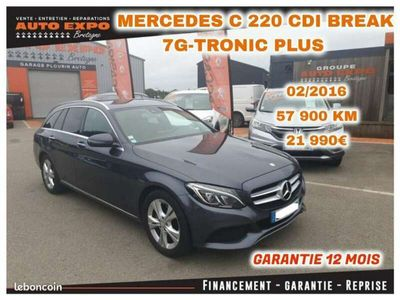 occasion Mercedes 220 CLASSE C BREAK (S205) D BUSINESS 7G-TRONIC PLUS