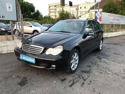 occasion Mercedes C200 Classe C 2007 - Noir - breakcdi 122 Classic bva