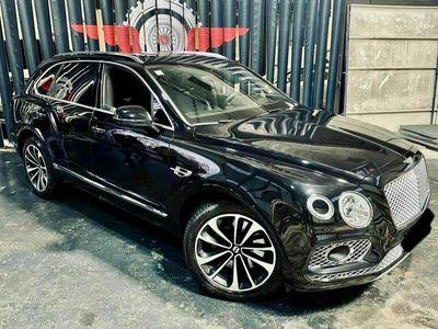 occasion Bentley Bentayga w12 noir cuir noir prix d?achat avec option 201000 HT