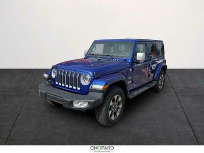 occasion Jeep Wrangler 2.0 T 272ch Unlimited Overland Command-Trac BVA8