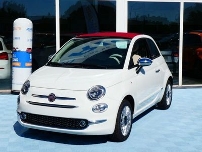 occasion Fiat 500C 1.0 70 BSG Hybrid BV6 LOUNGE GPS (8 Options) Capote Rouge