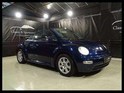 occasion VW Beetle New1.6i CABRIOLET / CT VENTE / CARPASS / GPS NAVI