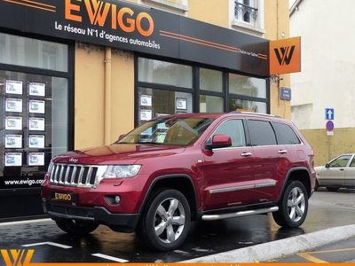 occasion Jeep Grand Cherokee IV 3.0 CRD 241 CH V6 FAP OVERLAND