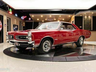 occasion Pontiac GTO 1966 - V8 389Ci - Boite Auto