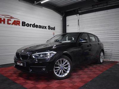 occasion BMW 118 Serie 1 2017 - Noir - D 150 LOUNGE BVA8