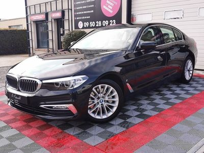 occasion BMW 530 Serie 5 2018 - Noir Métallisé - e 2.0 i Hybride 184 / 252 LUXURY