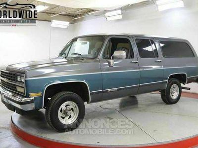 occasion Chevrolet Suburban 350 v8 1990 prix tout compris