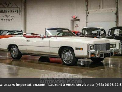 occasion Cadillac Eldorado 500ci v8 1976 prix tout compris