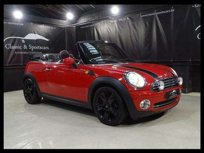 occasion Mini Cooper Cabriolet 1.6i FACELIFT / CUIR / GPS NAVI / AIRCO / PDC