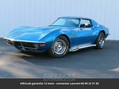 occasion Chevrolet Corvette C3 454 m-22 rock crusher. 390hp, 500ft/lbs t tops 1970 prix tout compris