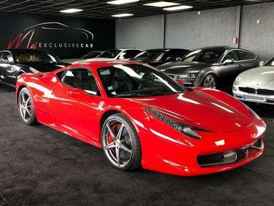 occasion Ferrari 458 Italia - Volant LED, pack carbone - Histo. complet