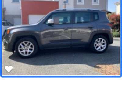 occasion Jeep Renegade 1.6 I MultiJet S&S 120 ch Limited