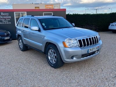 occasion Jeep Grand Cherokee 2008 - Gris clair - 3.0 Crd v6 218/ Limited