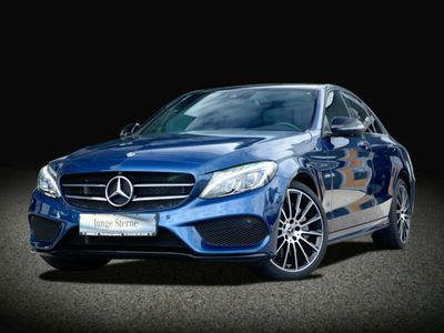 occasion Mercedes C250 d 4M AMG Line Night Panorama LED ILS Navi